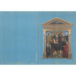 Folder Italia 2001 Madonna col Bambino Macrino d'Alba val. fac. € 5,16