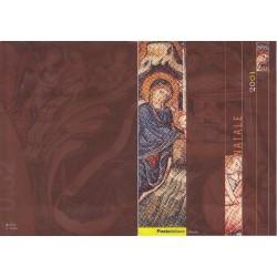 Folder Italia 2001 Natale val. fac. € 10,33