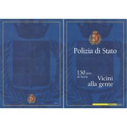 Folder Italia 2002 - Polizia di Stato  val. fac. € 5.00
