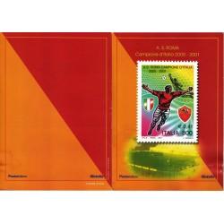 IT Repubblica 2001 Folder 23/06/2001 Roma Campione D'italia - nuovo completo, valore facciale - € 10.33