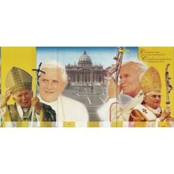 Italia Folder 2005 - Papa Giovanni e Benedetto XVi val. fac. € 16.00