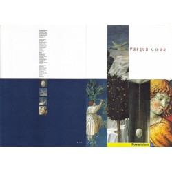 Folder Italia 2002 - Pasqua 2002  val. fac. € 5.00