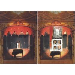 Folder Italia 2001 Il Melodramma Il Teatro Lirico Italiano val. fac. € 30,00