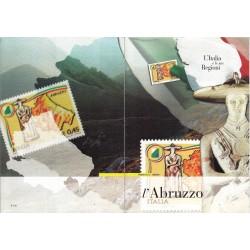 Folder Italia 2004 Regioni D'Italia Abruzzo val. fac. € 7,00