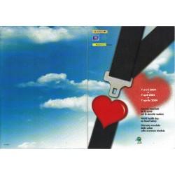 Folder Italia 2004 Sicurezza Stradale Emissione congiunta val. fac. € 14,00