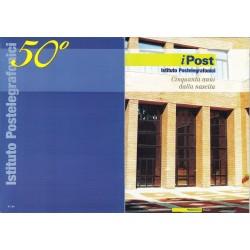 Folder Italia 2003 I Post Istituto Postelegrafonici val. fac. € 5,00