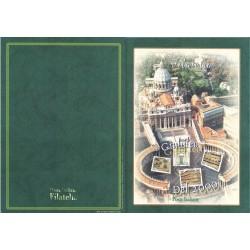 Folder Italia 1999 Giubileo del 2000 con cordoncino val. fac. € 15,49