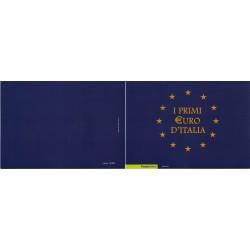 Folder Italia 2002 - I Primi Euro D'Italia val. fac. € 10.00