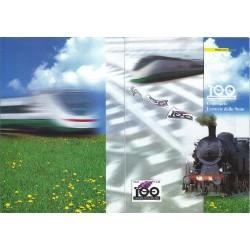 Folder Italia 2005 Centenario delle Ferrovie dello Stato val. fac. € 7,00