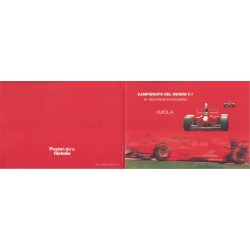 Folder Italia 2000 Campionato del Mondo F1 val. fac. € 5,16