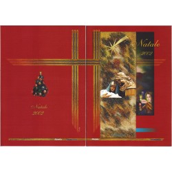 Folder Italia 2002 Natale 2002 val. fac. € 11,00