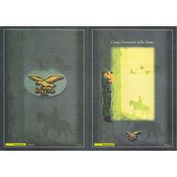 Folder Italia 2002 Corpo Forestale dello Stato valore facciale - € 6.00