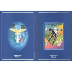 Folder Italia 2000 Lazio Campione d'Italia val. fac. € 10,33