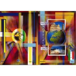 Folder Italia 2002 Patrimonio Mondiale Unesco - val. facciale - € 20.00