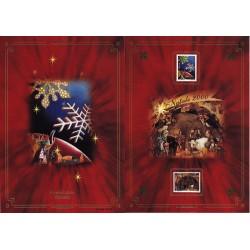 IT Repubblica 2001 Folder 30/10/2001 Santo Natale - nuovo completo, valore facciale £20.00 - €10.33