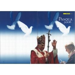 Folder Italia 2006 Pasqua 2006 val. fac. € 7,00