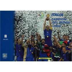 Folder Italia 2006 Italia Campione del Mondo val. fac. € 25,00