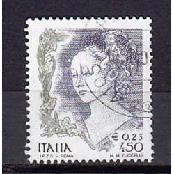 1999 Italia Repubblica - Unif. 2430 - Donne nell´arte Affresco di f. Lippi £ 450 - usato