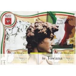 Folder Italia 2006 Regione D'Italia Toscana val. fac. € 8,00