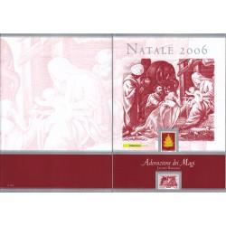 Folder Italia 2006 Natale val. fac. € 16,00