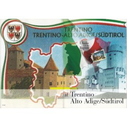 Folder Italia 2007 Regioni D'italia Trentino Alto Adige val. fac. € 9,00