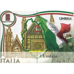 Folder Italia 2007 Regioni D'italia Umbria val. fac. € 9,00