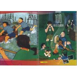 Folder Italia 2007 Europa 100 Anni di Scautismo  val. fac. € 16,00