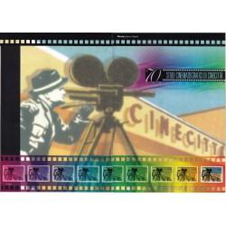Folder Italia 2007 Studi Cinematografici di Cinecitta  val. fac. € 9,00