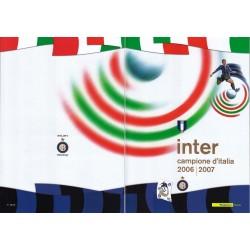 Folder Italia 2007 Inter Campione D'Italia  val. fac. € 18,00