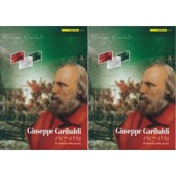 Folder Italia 2007 Giuseppe Garibaldi val. fac. € 40,00