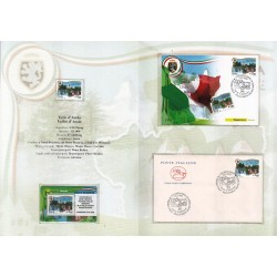 Folder Italia 2008 Regioni D'italia Valle d'Aosta val. fac. € 9,00