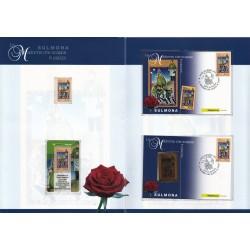 Folder Italia 2008 Sulmona la Madonna che scappa val. fac. € 40,00