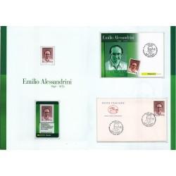 Folder Italia 2009 Emilio Alessandrini val. fac. € 10,00