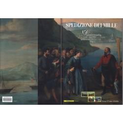 Folder Italia 2010 Spedizione dei Mille val. fac. € 28,00