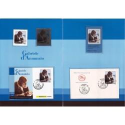 Folder Italia 2013 Gabriele D'Annunzio val. fac. € 18,00