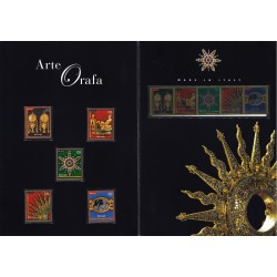 Folder Italia 2013 Arte Orafa val. fac. € 18,00