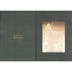 Folder Italia 2000 Giubileo del 2000 serie cordoncino val. fac. € 13,49