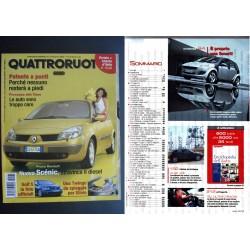 Quattroruote 574 08/2003 REANULT SCENIC GOLF 5 TWINGO