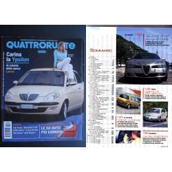 Quattroruote 573 07/2003 YPSILON LANCIA 50 AUTO PIU' COMODE