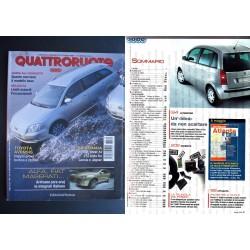 Quattroruote 570 04/2003 Jaguar S-Type, Lancia Thesis, Audi A2, BMW Z4