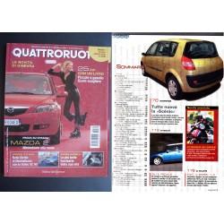 Quattroruote 569 03/2003 NOVITA' DI GINEVRA MAZDA 2 PROVE