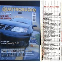 Quattroruote 564 10/2002 Smart Roadster-Coupé. Al volante Jaguar XKR