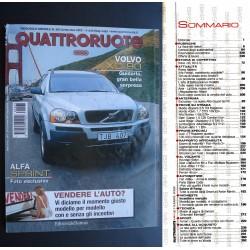 Quattroruote 563 09/2002 Foto Alfa Sprint. Volv XC90. Lamborghini Murciélago