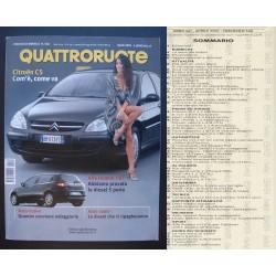 Quattroruote 546 04/2001 Citroen C5 - Chrysler Voyager - Toyota Yaris