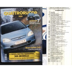 Quattroruote 542 12/2000 VW Passat - Pajero Pinin - Honda Civic