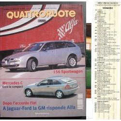 Quattroruote 534 04/2000 AR 156 - BMW C1 - Mitsubishi Pajero -Lotus 340