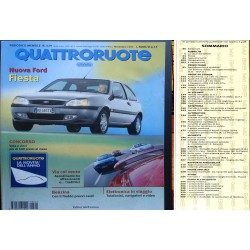 Quattroruote 529 11/1999 Prove Lancia Lybra, Safety Car Mercedes,Opel