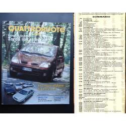 Quattroruote 527 09/1999 RENAULT SCENIC, CADILLAC EVOQ, AUDI A2