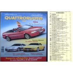 Quattroruote 524 06/1999 VOLVO C70, MASERATI 3200, PORCHE 911
