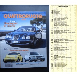 Quattroruote 523 05/1999 JAGUA S-TYPE, FERRARI 360 MODENA, BMW 3